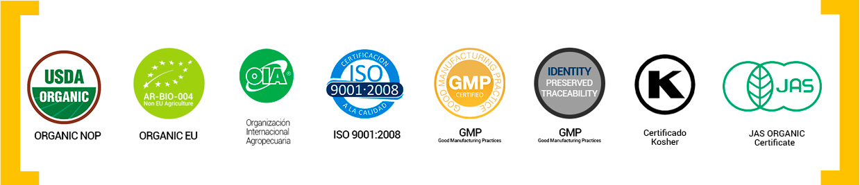 Special Certifications |